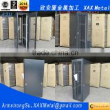 XAX4701KS 47U nine bend profile cold roll forming ventilated fan airflow Rack mount Rackmount Server Cabinet