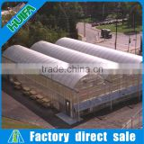 PC Sheet Cover Material and Solar Agricultural Greenhouses Type big aluminium greenhouse