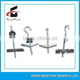 China Supplier Carbon steel spring toggle anchor wall hook