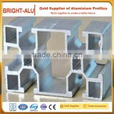Reasonable price 6000 series grade alloy seamless t-slot aluminum extrusion trade show booth