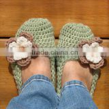 handmade soft crochet women shoes summer and spring casual shoes