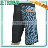 Men's Boardshorts Polyester Machanical Stretch fabric sublimation printing