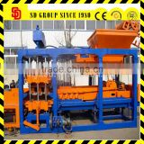 Full Automatic Hydraulic QT6-15 Fly Ash Brick Block Making Machine
