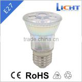 L-SL NEW design gu10/e27/e14/mr16 led glass spotlight bulb 4W 5W lamp e27 led spot lights led