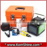Fiber Splicing Machine KomShine FX35 w/ Fiber Cleaver Equal to Fujikura FSM-70S Optical Fiber Fusion Splicer                                                                         Quality Choice
