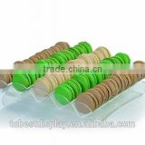 attractive design clear acrylic macaron display trays manufacturer for bakery room