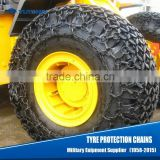 Custom-Made Wheel Loader Tyre Protection Chains