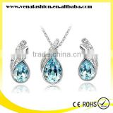 crystal beautiful wholesale jewelry set, bridal jewelry set                                                                         Quality Choice