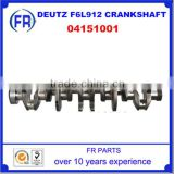 High Quality Manufacturer Deutz F6L912 Crankshafts Diesel Engines