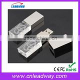 Grade A chipset crystal usb flash disk