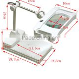 Beauty Salon Cheap Price LED Light 15X ESD Desk/bench Top Magnifying Lamp Portable