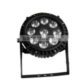Waterproof 9 x 12W LED Stage Par Light for R/G/B/W/Y/P
