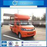 New condition bottom price gasoline type mobile selling truck for fish,meat,fast food,vegetables,etc.