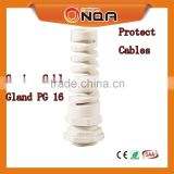 ONQA Spring PG/M Types Strain Relief Reduced Entry Nylon Cable Glands