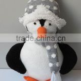 Hot sale eco-friendly north European style cute big size penguin stuffed plush toys for kids
