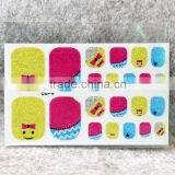 Acrylic toe nail sticker& French tip nail stickers &nail polish sticker