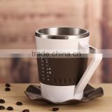 2016 Hot selling smart electric cup, led temperture colour change cup, coffee mug thermal cup
