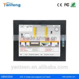 Powder coated aluminum front bezel 17inch Industrial LCD monitor with mm vandal-proof Projected Capacitive Touchscreen