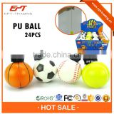 Top quality cheap pu foam stress ball toy for sale