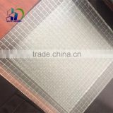 clear wired glass safety wire glass