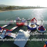 High quality Inflatable Water Park adults water sport equipment,Floating amusement park,Inflatable aqua park ocean sports sale