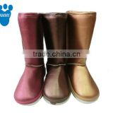 OEM Ladies indoor animal soft warm Customized terry home winter boots winter high quality warm TPR slippers with cheap price