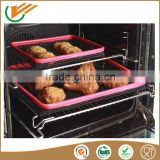 2016 PFOA FREE New PTFE non-stick barbecue grill mesh mat suitable for microwave oven grill mesh