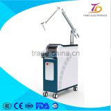 Naevus Of Ito Removal 2016 Popular Wholesale Price Q Switch Nd Yag Laser Red&Green Tattoo Removing Machine 1 HZ