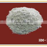 Magnesia ore powder based basic ramming mass for induction melting furnace with good sintering structure