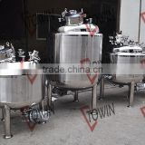 stainless steel chemical reactor jacketed agitator reactor/double jacket reactor with cooling jacket