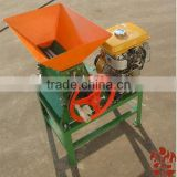 Motor and Petrol Driven Fresh Cherry Coffee Hulling Machine / Coffee Bean Dehuller / Huller