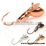 different weight in stock Japan hook wholesale tungsten Ice Fly ice fishing jigs