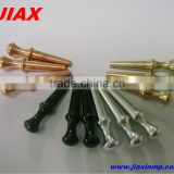 Customized wholesale brass metal pegs for cribbage board
