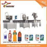 High Quality Economy Linear Type Beer Can Bottling Line /Filling Machine Without alcohol