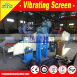 2016 hot selling vibrating screen machine for silica sand/quartz sand