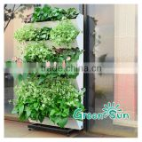 hot selling quality artificial plastic vertical green wall system,wall planter,Hydroponic hangging planter