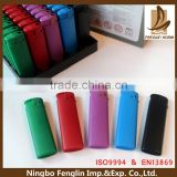 Refillable electronic solid color painting chidren resistant Butane lighter refill valve