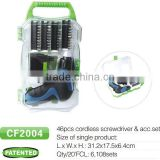 3.6V mini cordless screwdriver with GS CE Rohs