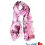 CT-SF010 scarf viscose with printing design