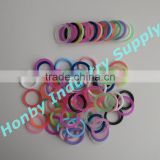 21mm Inner Diameter O Ring Shape Silicone Pacifier Holder Clip
