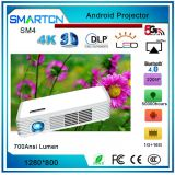 SM4 SMSATCN China Manufacturer Android system Mini led projector,Dlp projector,3D Led Projector