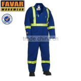 men's FR 100%cotton boiler suit overall 260gsm
