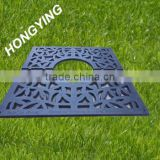 Smc plastic tree protection grating