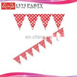 felt party flag banners or pennant