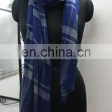 Latest Pashmina wool Scarfs Design Checked Scarves and shawls