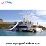 Custom Yacht Inflatable Water Slide For Boat Ship On Sea