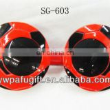 Fashion football fan club party sunglasses/ soccer sunglasses