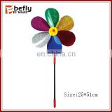 Colorful plastic windmill toys for kids