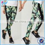 Women Fashion Printed Fitness Running Training Bodybuilding Sport Fancy Leggings Pencil Pants