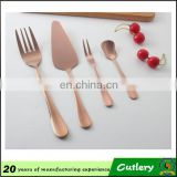 Royal Stainless Steel Rose Gold Cutlery